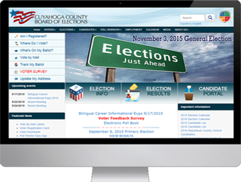 Board of Elections screen